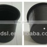 4 gallon round plastic flower pot nursery pots plastic containers