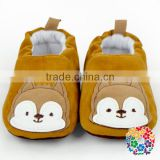 Adorable Coffee White Bear Warmer Winter baby shoes girl