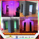 New design attractive photobooth free standing customized inflatable photo booth Inflatable photo booth enclosure