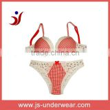 new model fashion teenager's print underwear bra set