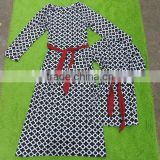 mom and me dress clothes party clothes sets long sleeves dress me and mom machting dress