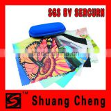 Optical lens cleaning microfiber cloth lens cleaning cloth