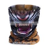 Gift In Bandana 100% Polyester Fabric Custom Full Dye Sublimation Printing Logo Neck Warmer