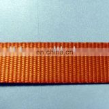 Colored tubular nylon ribbon