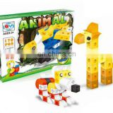 2014 B/O building block animal series play set