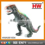 Battery operated electric toy dinosaur with action and sond