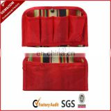 Makeup bag cosmetic organizer