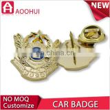 Newest copper sport medallion car emblem medal