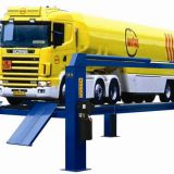 8/10/12/15/16 TON hydraulic car lift four post lifter for large vehicles