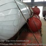 One set 10T/D waste oil refining plant delivery to Anhui, China