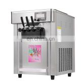 single flavor soft ice cream machine/italian ice cream machine/ice cream making machine