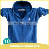 Hiigh competitive price eco friendly fabric cheap zip jackets hoodie for men with multi color