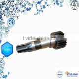 Customized Nonstandard Mechanical Gear Shaft Materials For Oil Pump
