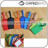 wholesale genuine leather luggage tags baggage tags colorful luggage parts