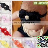 baby hair fashion accessories elastic headband hair band with maple leaf and jewelry MY-AB0056