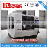 Mini&small cnc vertical machining centre or milling machine VMC850 with TAIWAN accessories for mould maching