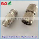 weatherproof double N female to female,double N male to male N type connector adaptor for communication equipment