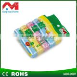 cheap clear and colored custom printed plastic garbage bags