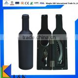 Bottle shape wine set/wine opener set