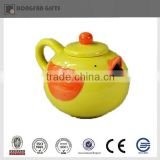 Cute porcelain Easter chick teapot decoration