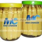 Baby Corn Thailand In Glass Bottle/Jar