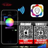 Color changing RGB wifi led remote control LED Magic Color application fit for IOS and Android