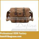 The new design Shoulder messenger fashion leather camera bag                                                                         Quality Choice
