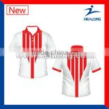 Fashionable Sublimated Unisex Sports Cricket Jersey Pattern Design for Sale