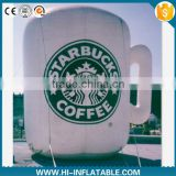 2015 Hot sale Advertising inflatable coffee/drink cup,inflatable replicas model,inflatable model for promotion