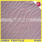 Latest design romantic pink flower lace fabric for long wedding gown                                                                                                         Supplier's Choice
