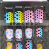 High quality artificial fingernails/false nail /fake nail tips acrylic nail art set with full cover type                                                                         Quality Choice