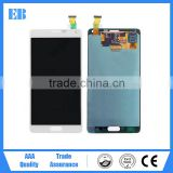 Spare parts lcd panel lcd display lcd touch glass screen digitizer for Samsung galaxy note4 N9100 lcd screen