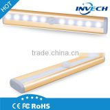Wireless Motion Sensor Closet Cabinet Lamp stairs led light Step Light Bar with Magnetic Strip