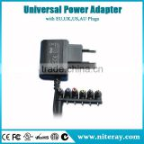 220v ac dc 5v 1a power adapter 21v with CE RoHS UL FCC C-Tick SAA BEAB GS