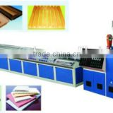 PVC&WOOD plastic composit profile production line