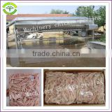 whole stainless steel line of chicken feet processing machine