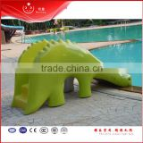 fiberglass butterfly swimming pool kids slide for summer kids play