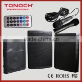 "12"" 15"" Professional High Power Digital Sound Speaker with Folder Mp3 Player + USB/SD + Remote Control + FM + BlUETOOTH"