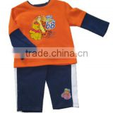 new arrival kids boys autumn sports clothes set baby insert clothing