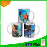 11oz blank white sublimation mug, cheap ceramic sublimation mug, plain white promotional mug