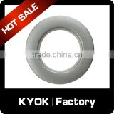 KYOK home decorative antique metal curtain rings,22mm forged wrought iron rings diamond fancy design CP/GP colour