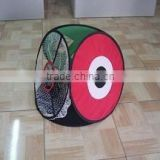 Foldable four sides golf practice net for training