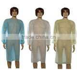 White Hospital Nonwoven Fabric Surgical Gown
