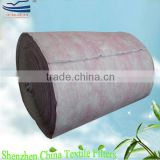 Nonwoven fabric HVAC bag filter media/ synthetic f7 pocket filter
