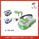 Hot sell promotion dynamo torch radio