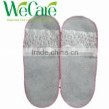 disposable non woven slipper with open toe