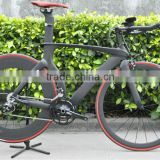 Chinese bike,Dengfu bike TT model Fm018, new full carbon bike complete time trial bike FM018 TT frameset&Sram Force groupset
