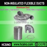 HVAC /Air conditioning /Hydroponics systems Aluminum hose flexible air pipe