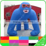 Latest design giant inflatable gorilla