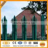 Alibaba best hot sale w pales palisade fence for security usuage